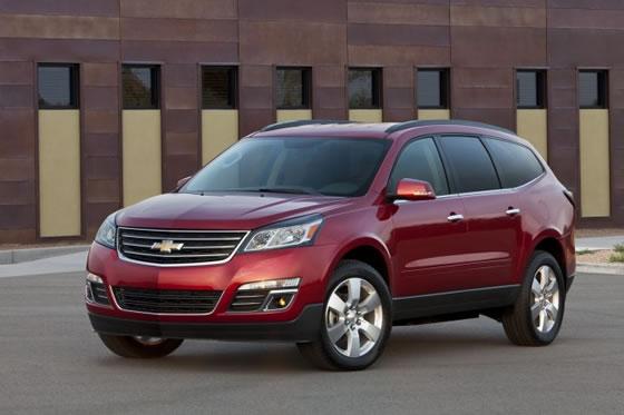 Chevrolet Traverse 2013 chega com novo visual em Nova York