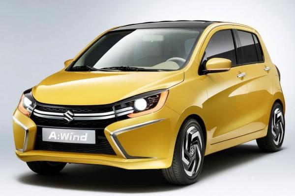 Suzuki A:Wind Concept é revelado e dará origem a um hatch compacto na Ásia