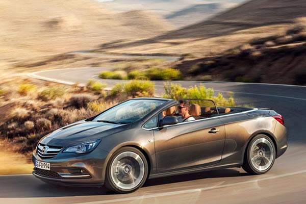 Opel Cascada Turbo agora com 200 cv e parte de € 29.490