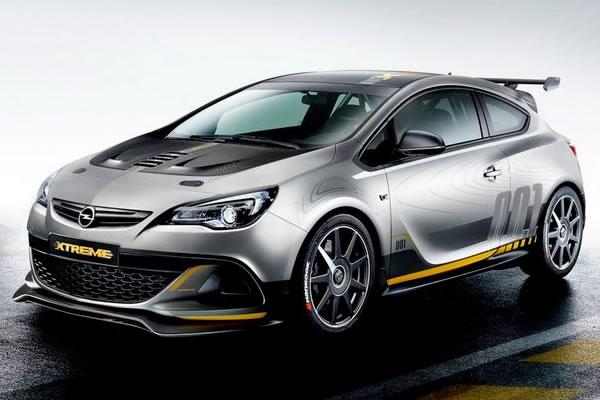 Opel Astra OPC Extreme de 300 cv impressiona