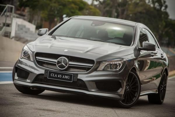 Mercedes lança CLA 45 AMG no Brasil