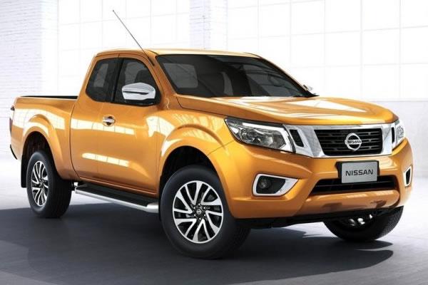 Confira a nova picape Nissan Frontier 2015