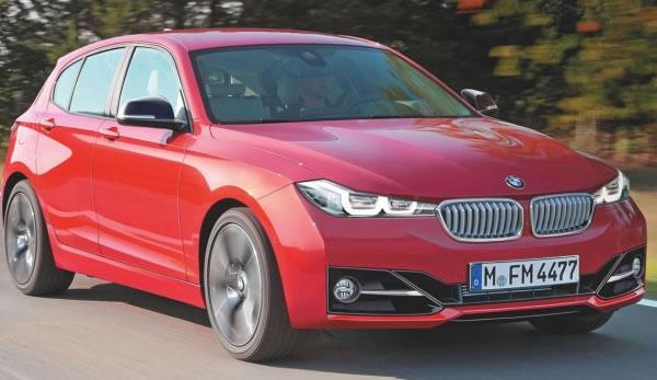 BMW Série 1 ficará maior e perderá tração traseira